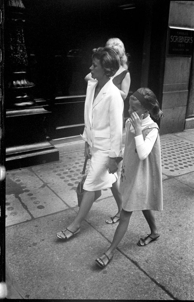Image of Mother And Daughter In Manhattan early 1960's