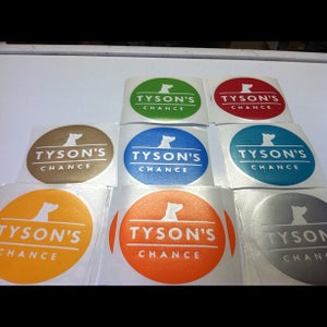 Image of Tyson's Chance Car Decal