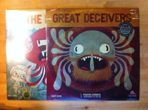 """Image of Great Deceivers/The Pauses 12"""" Split EP"""