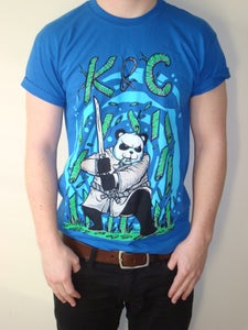 Image of 'Blue Panda' T-shirt