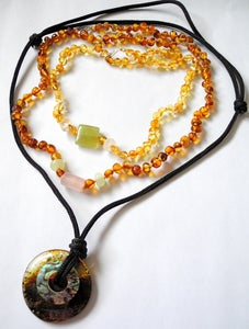 Image of Custom made Intuitive Baltic Amber Jewelry