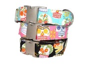 Image of Sugar Skulls - Dog Collar on UncommonPaws.com