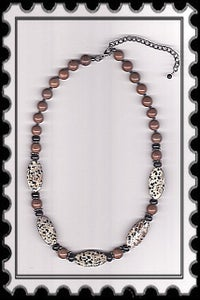 Image of N1178  Dalmatian Jasper Necklace & (Optional) Bracelet & Earrings