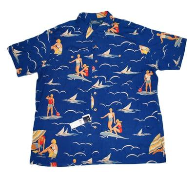 Image of Polo Ralph Lauren Hawaiian printed shirt