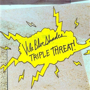 "Image of Vile Blue Shades ""Triple Threat"" CD"
