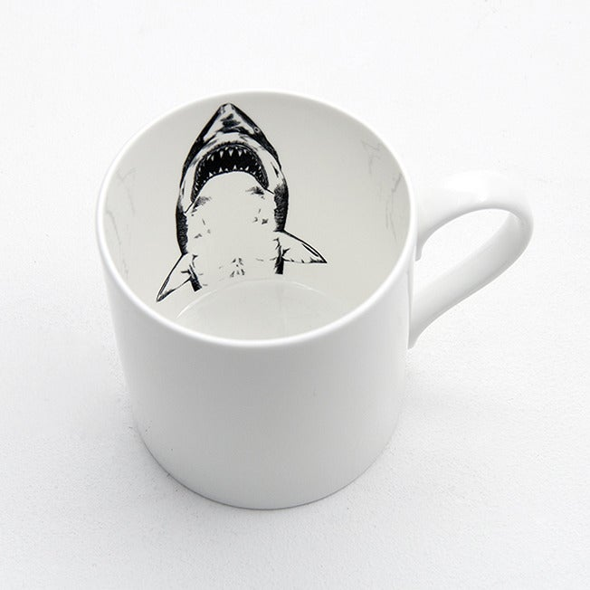 Image of Shark Mug by JaguarShoes Collective