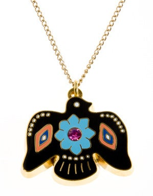 Tribal Bird Necklace 40% reduced!