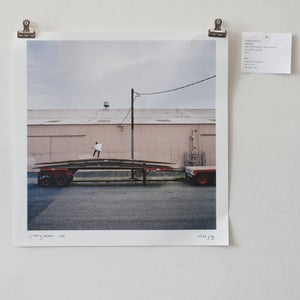 "Image of jimmy lannon - manual - 12"" x 12"" print"