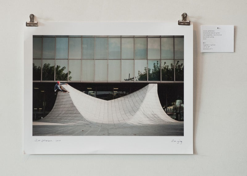 "Image of clint peterson - frontside melon grab - 11"" x 14"" print"