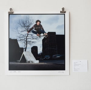 "Image of dave caddo - ollie - 12"" x 12"" print"