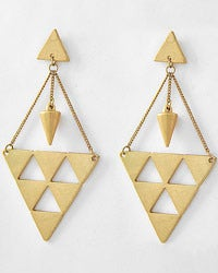 Image of A Cut Above Dangle Earrings