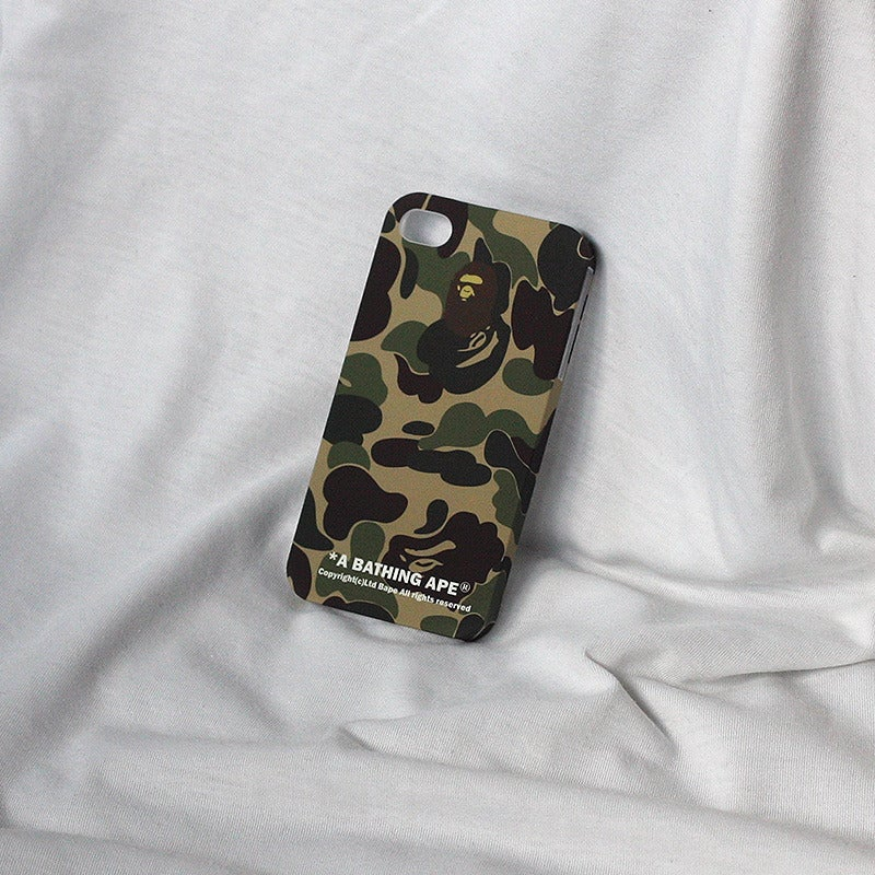buy online a7fca 10046 A Bathing Ape® Original Camouflage iPhone 4/4S Case