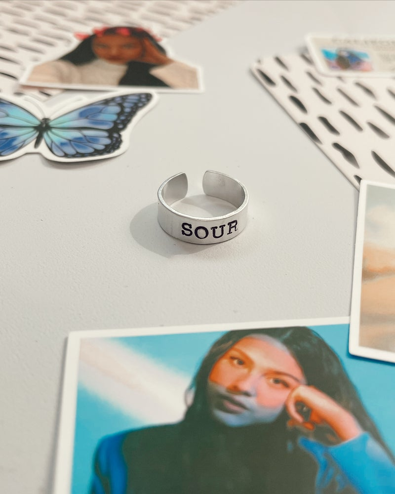 Image of SOUR Stamped Ring