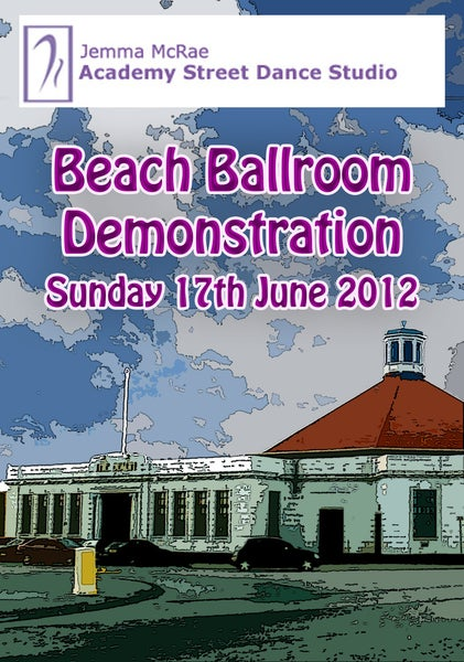 Image of Academy Street Dance Studio - Beach Ballroom Demonstration 2012