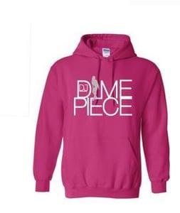 Image of Dime Time Hoodie Pink