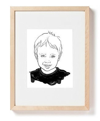 Image of Custom Portrait of One