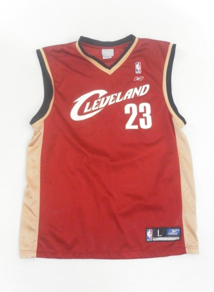 new concept faf22 f11bb Vintage Cleveland Cavaliers Lebron James Basketball Jersey