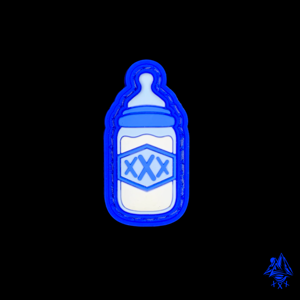 Image of Outlaw Baby Bottle (Blue)
