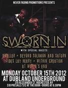 Image of SWORN IN 10/11/12