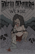Image of DIRTY WOMBS - WE RISE CASSETTE EP