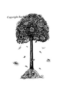 Image of The Sunflower Tree, Illustrated by Rachel Cloyne