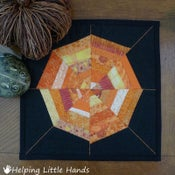 Image of 11x11 Smaller Mini-Spiderweb Quilt