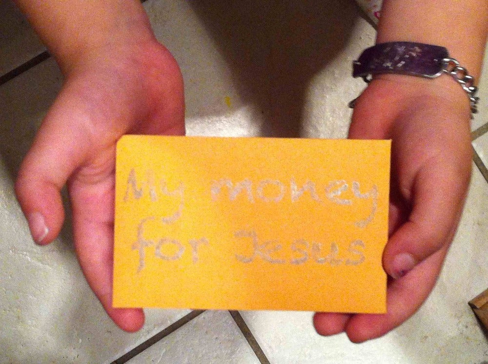 Image of Offering Envelopes for Kids (bundle of 25 envelopes)