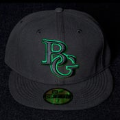 Image of Buzz Global BG New Era 59/50 fitted Black/Green