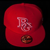 Image of Buzz Global BG New Era 59/50 fitted Red/Red