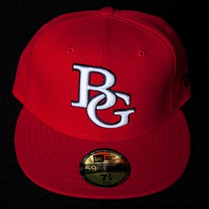Image of Buzz Global BG New Era 59/50 fitted Red/White