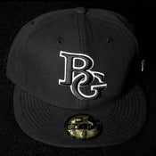 Image of Buzz Global BG New Era 59/50 fitted Black/White