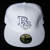 Image of Buzz Global BG New Era 59/50 fitted White/Black