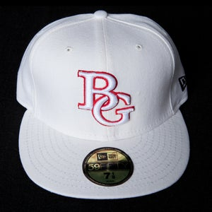 Image of Buzz Global BG New Era 59/50 fitted White/Red
