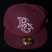 Image of Buzz Global BG New Era 59/50 fitted Maroon