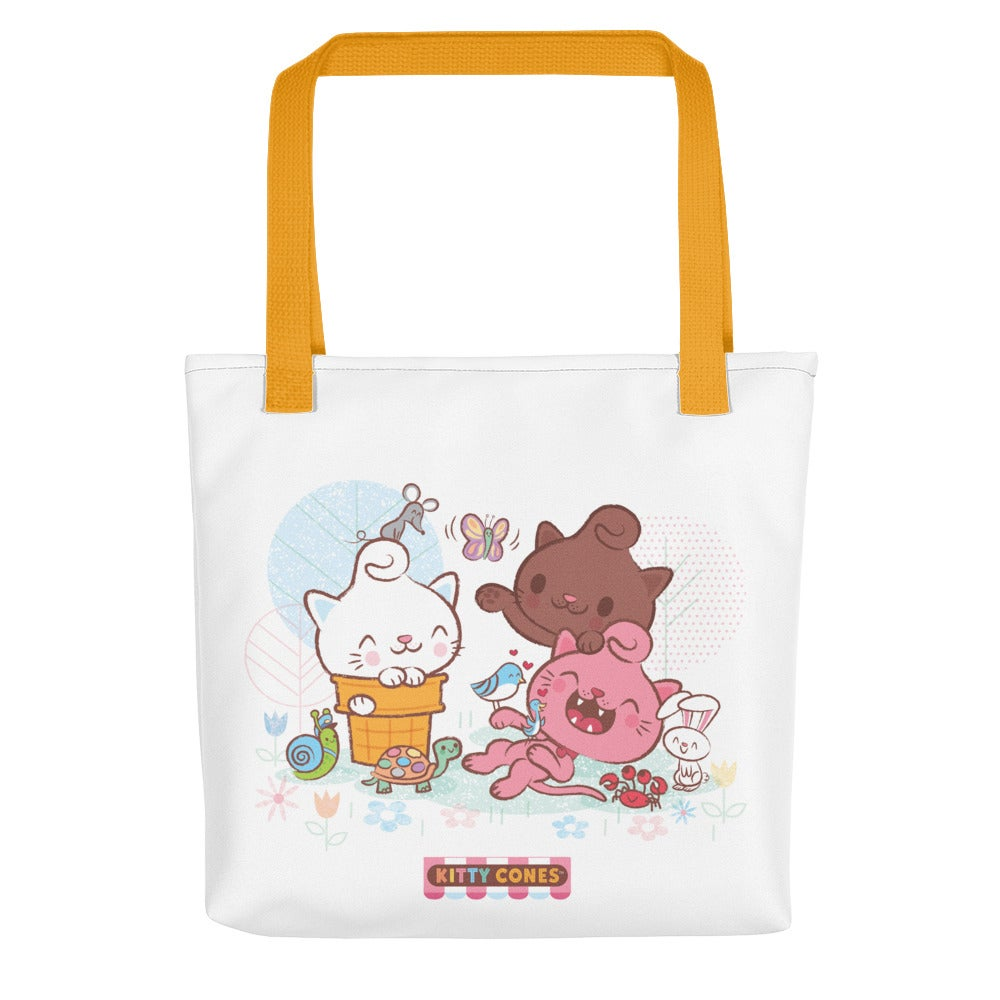 Image of Kitty Cones Friends Fun Tote Bag
