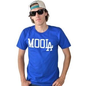 Image of MOOLA Royal Blue Tee (UNISEX) LIMITED EDITION!