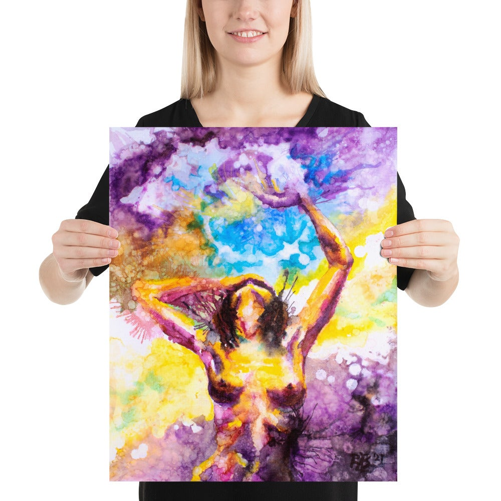 """Image of     PRINT     - """"The Universe Is Always More Beautiful Behind You"""" - Center"""