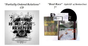 "Image of Partially Ordered Relations (CD) + ""Boat Race"" (7"")"