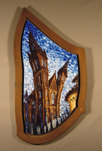 Image of Vysehrad Limited Edition Giclee in Custom Frame
