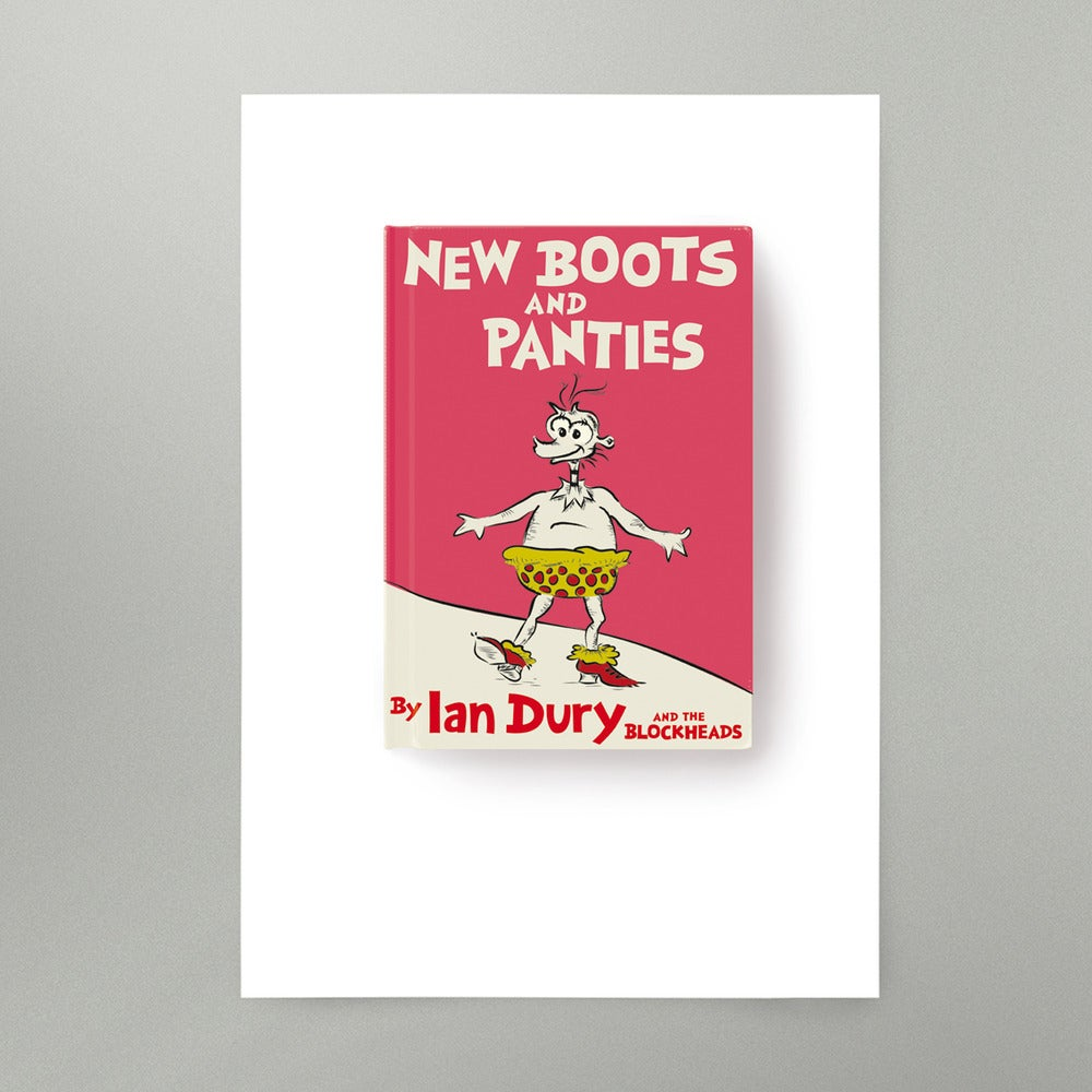Image of New Boots and Panties Art Print