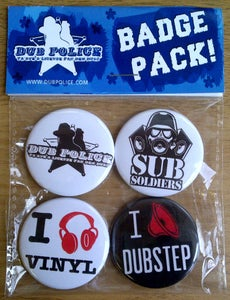Image of Dub Police Badge Pack