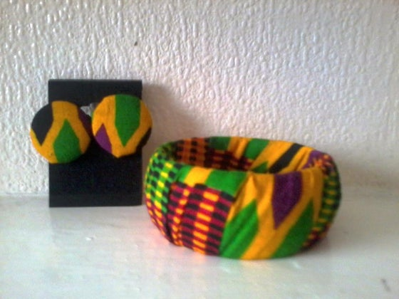 Image of Kente Matching Set