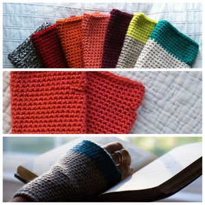 Image of Crocheted Handwarmers