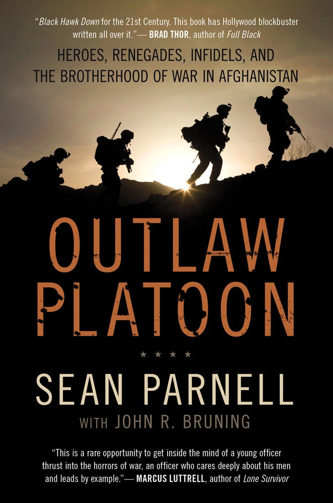 "Image of Signed Hardcover Copy of ""Outlaw Platoon"" by Sean Parnell"