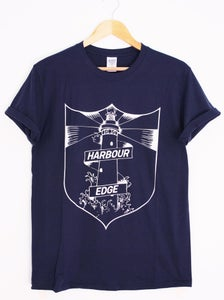 Image of Lighthouse Tee - Navy Blue