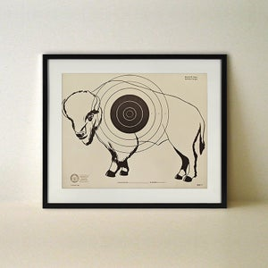 Buffalo Targetry Poster