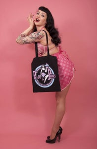 Image of Pin-Ups in Pinnies tote bag