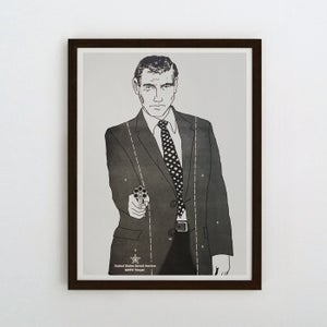 Image of Handsome Bond Targetry Poster