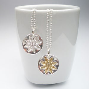 Image of Silver Snowflake Pendant