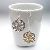 Image of Small Silver Snowflake Pendant